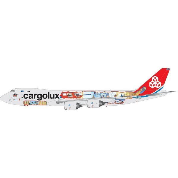 Phoenix B747-8f Cargolux 45th Cutaway 1:400