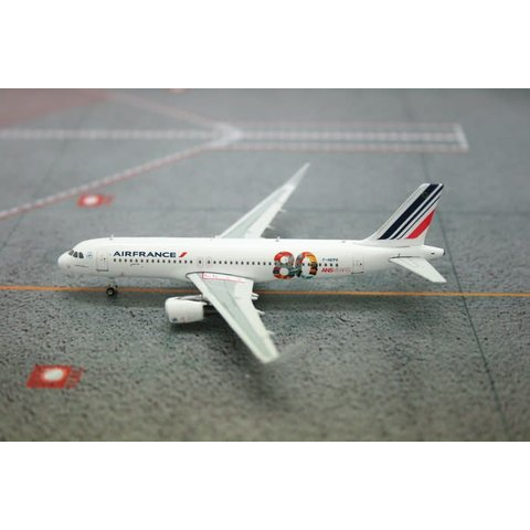 A320S Air France 80th Anniversary F-HEPG 1:400