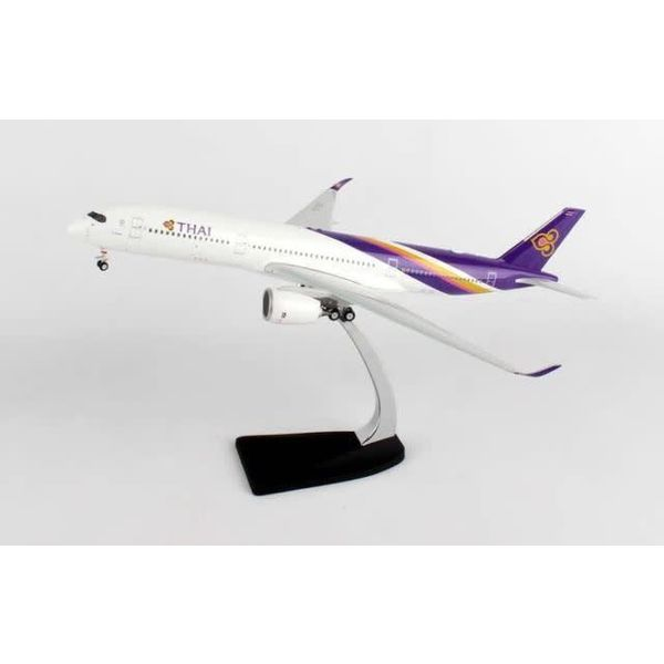 Phoenix A350-900 Thai Airways HS-THB 1:200 with stand