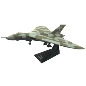 AV72 Vulcan Royal Air Force Operation Black Buck Falklands 1982 camouflage XM607 1:144 with stand