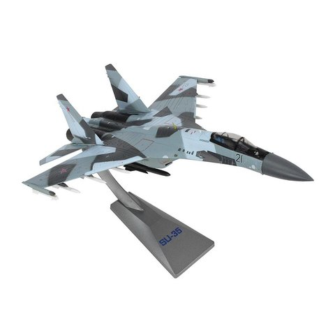 SU35 Flanker Russian Air Force RED21 1:72