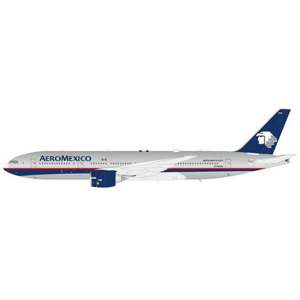 JC Wings B777-200ER Aeromexico N746AM 1:200 with Stand