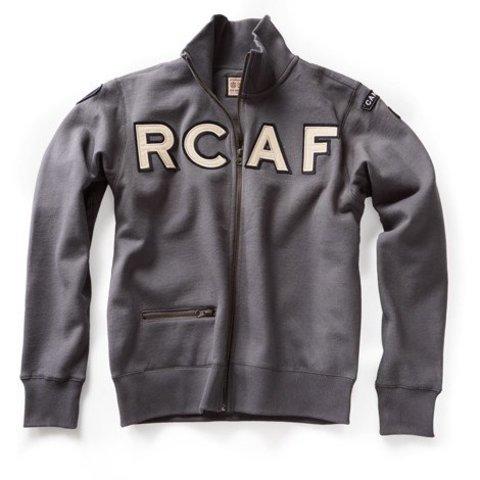 RCAF Zippered Sweat Shirt