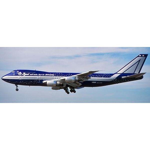 JC Wings B747-200 Alitalia Baci Dall I-DEMF 1:400 (Bigbird)