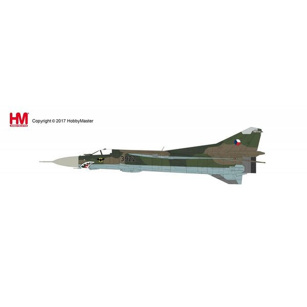 Hobby Master HOBBYM MIG23MF Flogger 1SLP CSFR Czech Air Force 1992 1:72