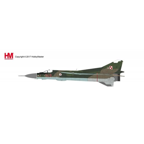 MIG23MF Flogger 28 Pulk Polish Air Force 1:72