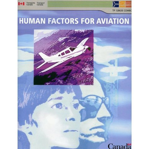 Human Factors for Aviation Combo (Basic, Advanced and Instructor)