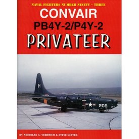 Naval Fighters Convair PB4Y2 / P4Y2 Privateer: Naval Fighters #93 softcover