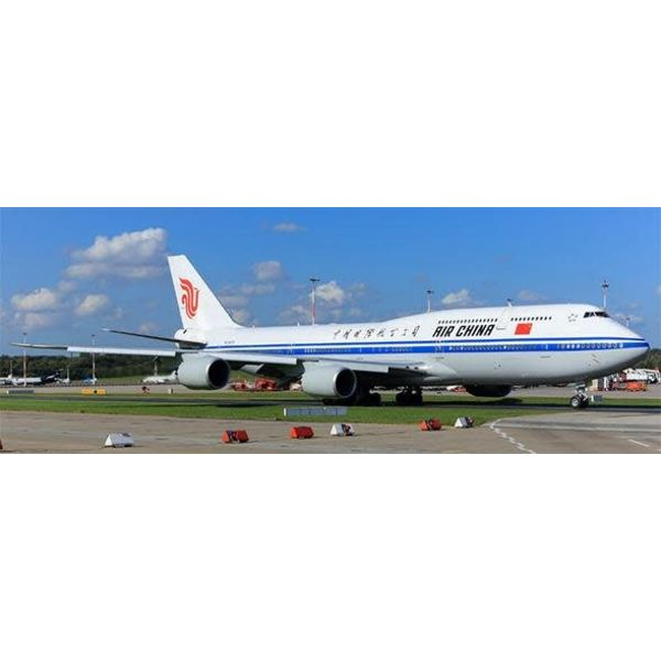 JC Wings B747-8I Air China Chinese Air Force One B-2479 1:200 with Stand