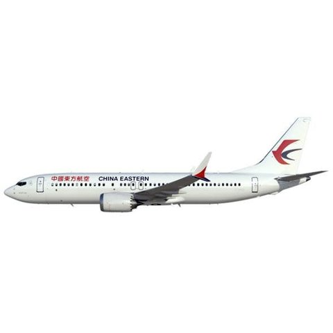 B737 MAX8 China Eastern 1:400 with antennae