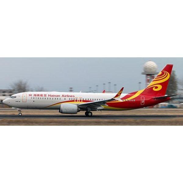 JC Wings B737 MAX8 Hainan Airlines B-1390 1:400