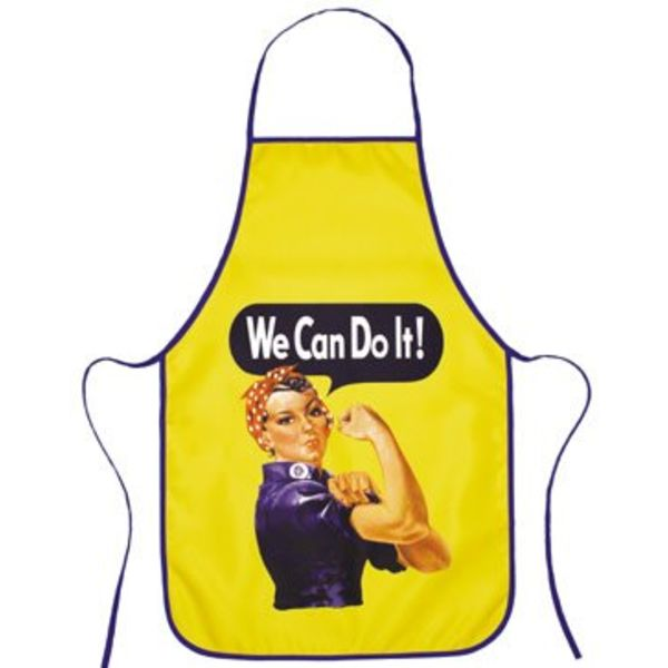 Apron Rosie the Riveter WE Can Do It