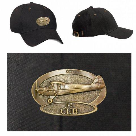 J-3 Piper Cub Brass Cap