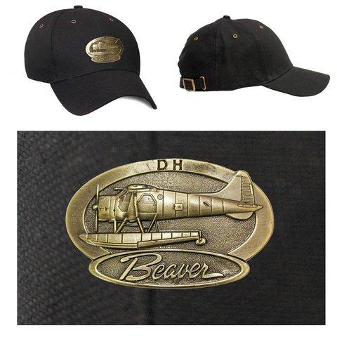 Beaver Brass Cap