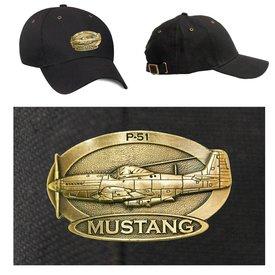 Labusch Skywear P-51 Mustang Brass Cap