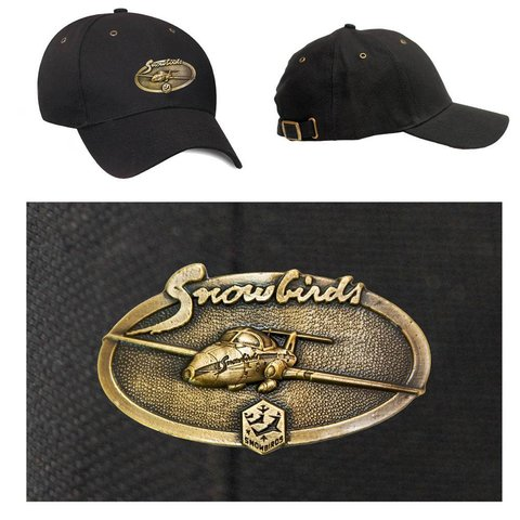 Snowbirds Brass Cap