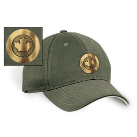 Labusch Skywear RCAF Modern Roundel Antique Brass Emblem Cap