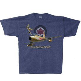 Labusch Skywear Golden Hawks Adult T-Shirt