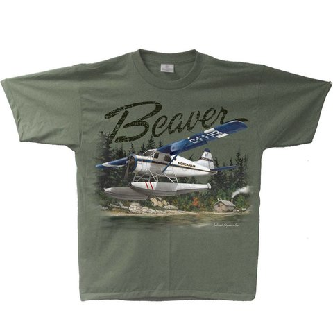 Beaver Adult T-Shirt