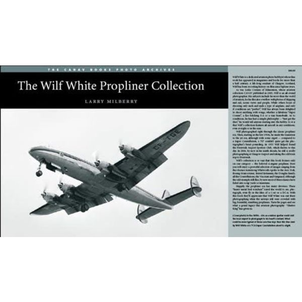 CANAV BOOKS Wilf White: Propliner Collection softcover