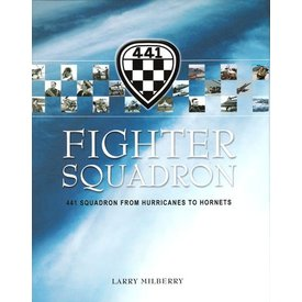 CANAV BOOKS Fighter Squadron:441 Squadron: Hurricanes to Hornets hardcover