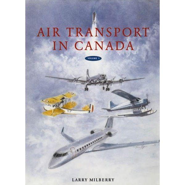 CANAV BOOKS Air Transport in Canada hardcover++2 Volume Set++