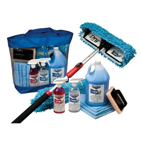 AERO COSMETICS WASH WAX MOP KIT