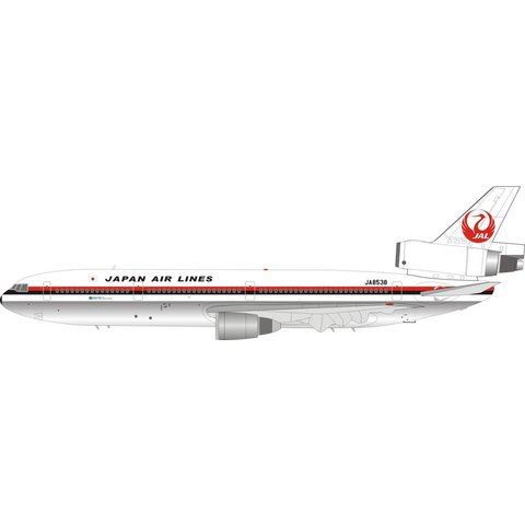 JETX DC10-40 Japan Air Lines JAL JA8538 Expo 80 Osaka 1:200 With Stand Limited edition 80 pieces