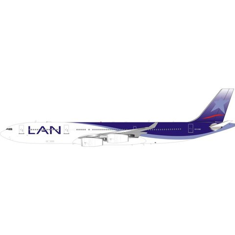 A340-300 LAN Airlines CC-CQC 1:200 With Stand