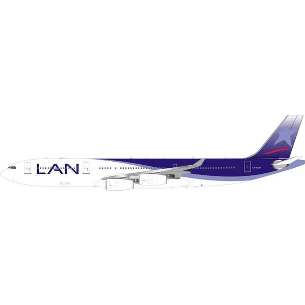 InFlight A340-300 LAN Airlines CC-CQC 1:200 With Stand