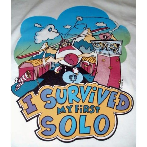 I Survived My First Solo T-Shirt