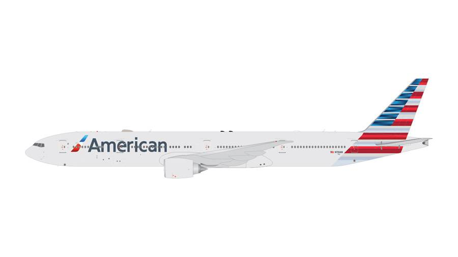 B777-300ER American Airlines New livery 2013 N721AN 1:400