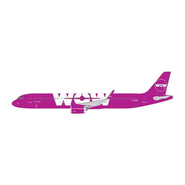 Gemini Jets A321neo WOW Air TF-SKY 1:400  (1st release)
