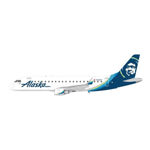 ERJ175 Alaska New Livery 2015 N182SY 1:200 with stand+New Mold+
