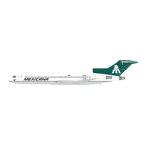 B727-200 Mexicana Final Flight XA-MEE 1:200**o/p**