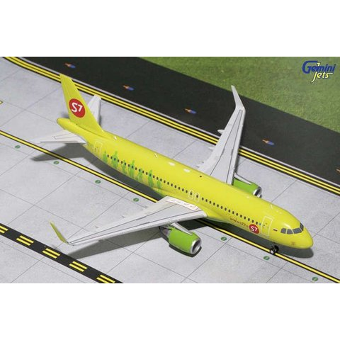 A320S S7 Sibir Sharklets Air 1:200 with stand