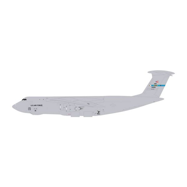 Gemini Jets C5M Super Galaxy USAF Dover AFB 50005 Grey 50005 1:400