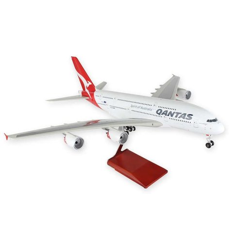 A380-800 Qantas 1:100 Skymarks Supreme with stand & Gear