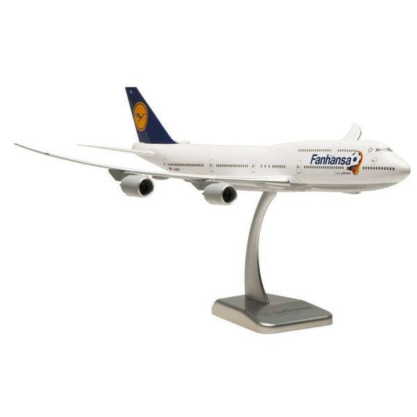 Hogan B747-8I Lufthansa Fanhansa D-ABYO 1:200 with stand (no gear)**o/p**