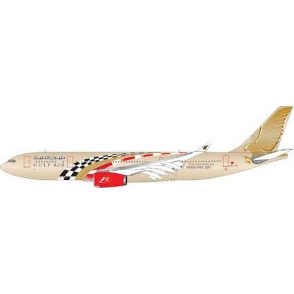 Phoenix A330-200 Gulf Air Formula 1 2017 A9C-KB 1:200