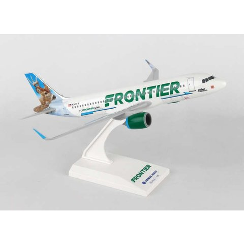 A320neo Frontier new livery 2014 Wilbur the Whitetail 1:150 with stand (no gear)