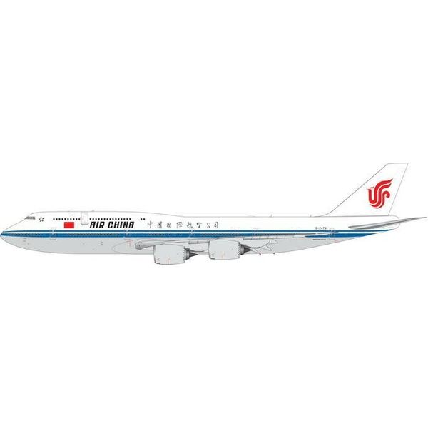 Phoenix B747-8I Air China Chinese Air Force One B-2479 1:200 with stand