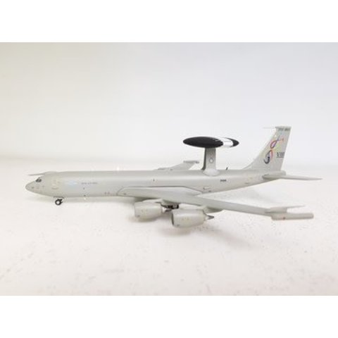 E3D Sentry AEW1 RAF Royal Air Force ZH106 1:200 with stand
