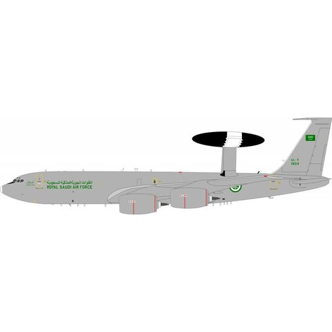 E3B Sentry Saudi Air Force 1804 1:200 with stand