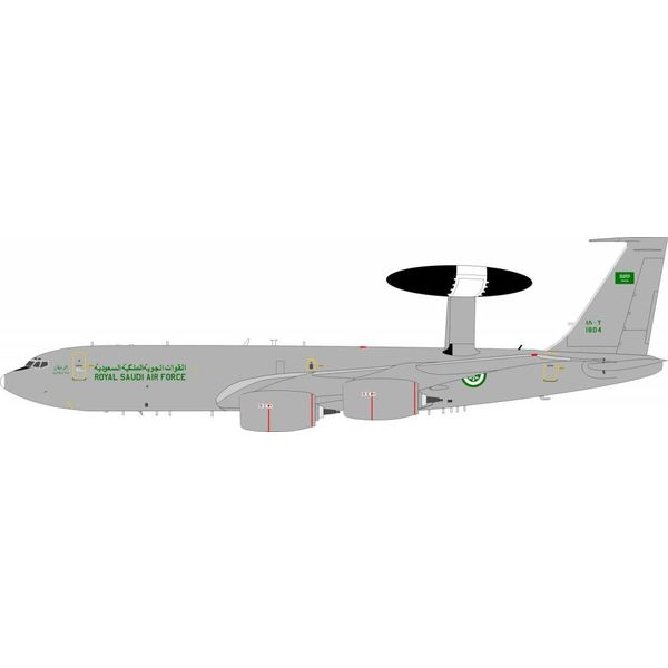 InFlight E3B Sentry Saudi Air Force 1804 1:200 with stand
