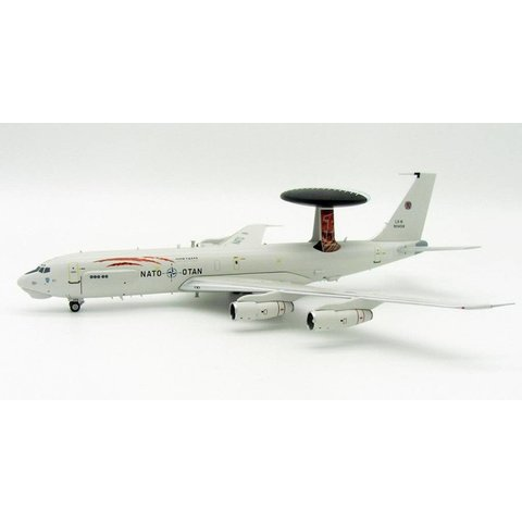 NE3A (B707-300) Sentry AWACS NATO Luxembourg LX-N90458 Tiger 1:200 With Stand