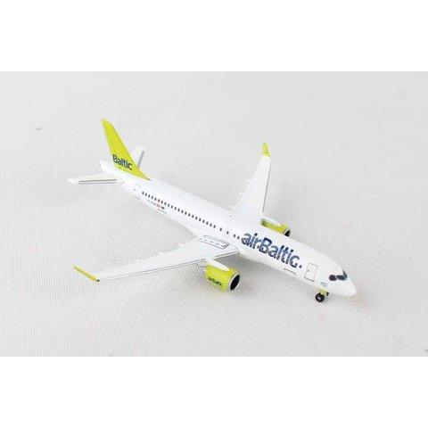CS300 Air Baltic YL-CSA C series 1:500