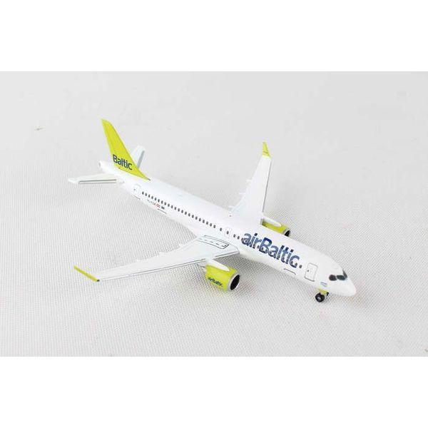Herpa CS300 Air Baltic YL-CSA C series 1:500
