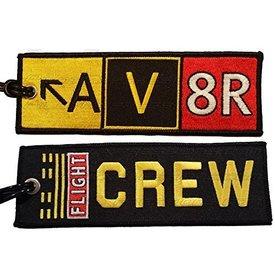 Luggage Tag AV8R CREW