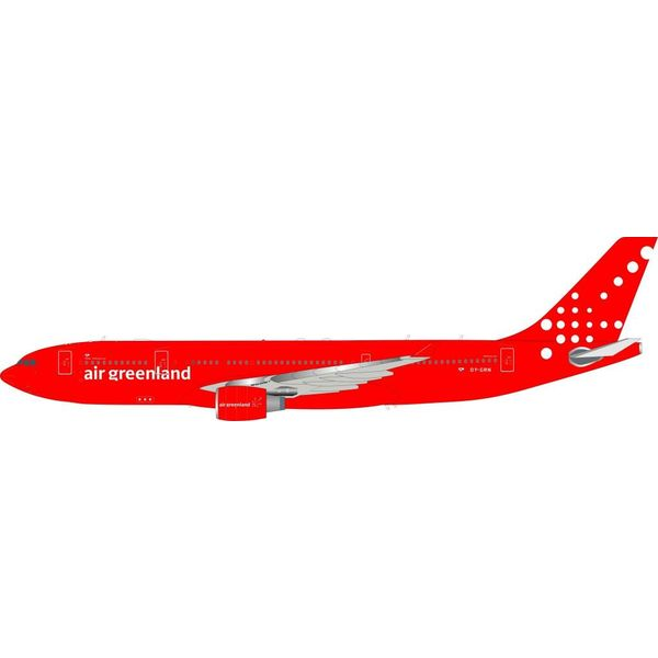 InFlight A330-200 Air Greenland OY-GRN 1:200 with Stand